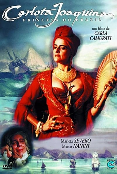 Poster do filme Carlota Joaquina, Princesa do Brazil (1995)