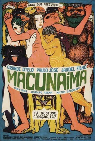 Poster do filme Macunaíma (1969)