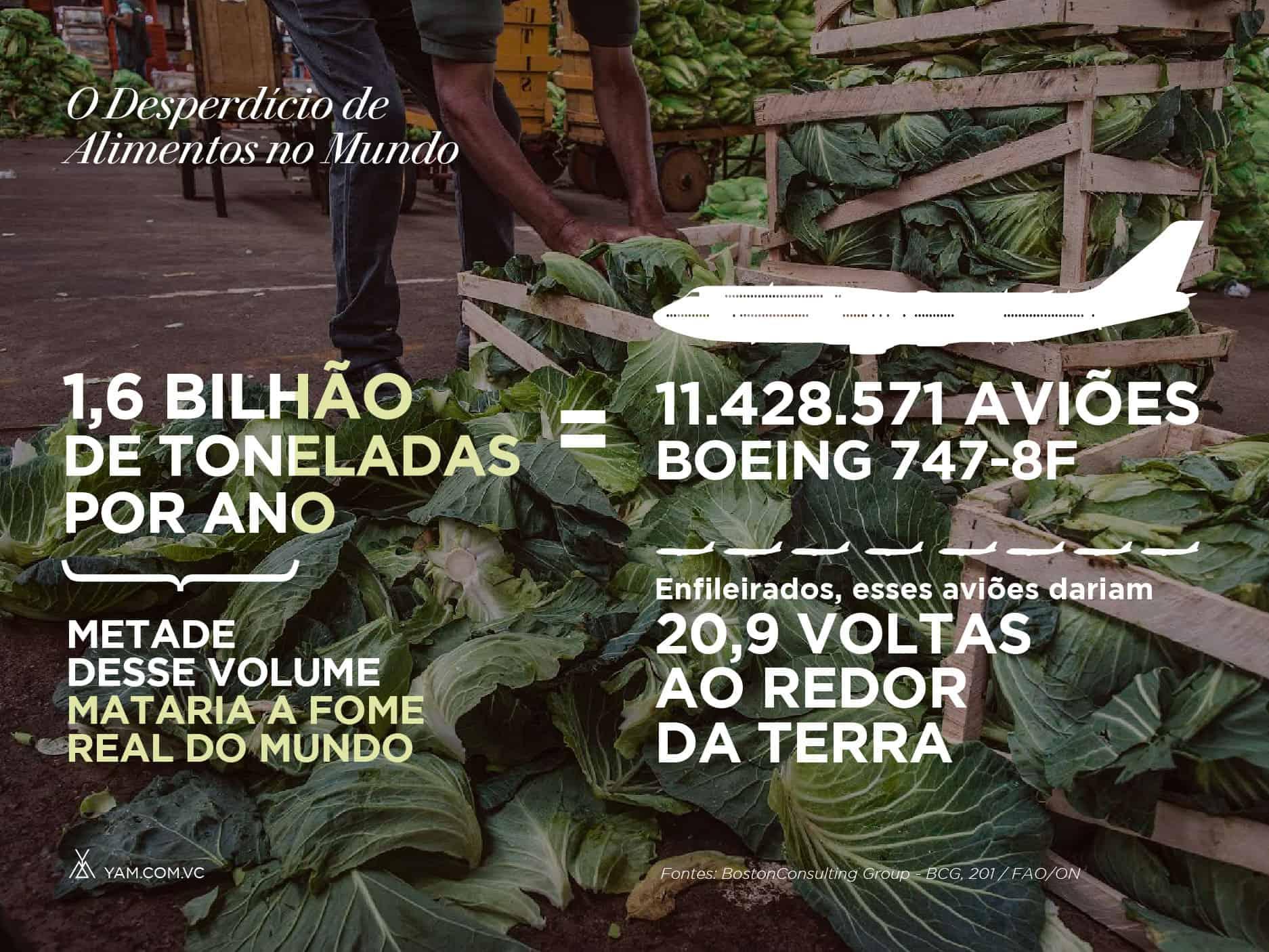 Números do desperdício de alimentos no mundo, comida poderia alimentar o mundo