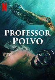 Cartaz do documentário Professor Polvo (2020)