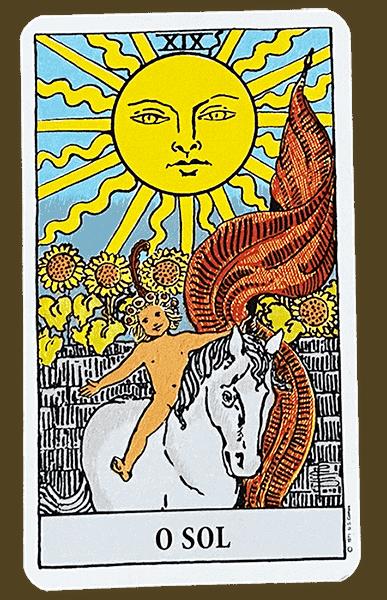 Tarot Rider Waite, carta O Sol